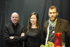 Christer Larsson, jag, Björn Carnemalm.