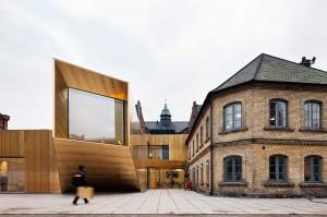 Domkyrkoforum i Lund av Carmen Izquierdo.